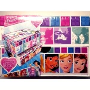 NEW Disney Princess DIY Kit Glittery Glam Mosaic